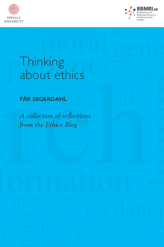 Thinking about ethics cover