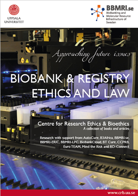 Biobank and registry ethics & law, report cover
