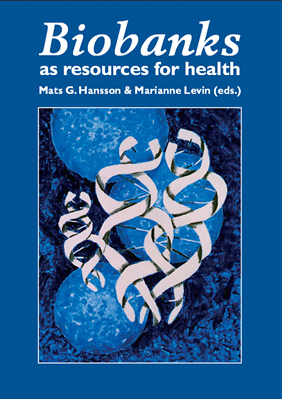 Biobanks as resources for health, Hansson & Levin, cover